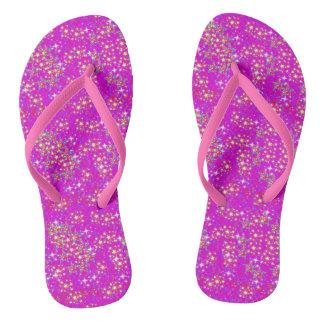 Chinelos Flip-flops estrelados
