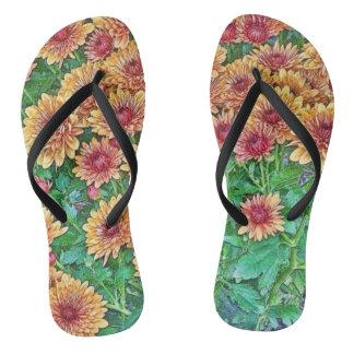 Chinelos Flip-flops florais