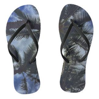 Chinelos Flip-flops havaianos da palmeira