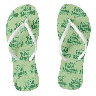 Chinelos Flip-flops irlandeses do Mammy, dialecto irlandês,
