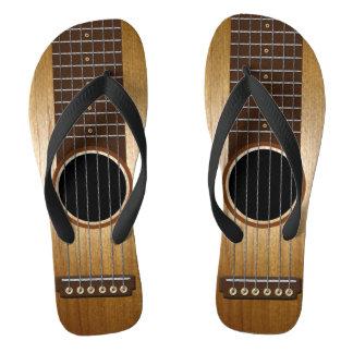 Chinelos Guitarra feita sob encomenda