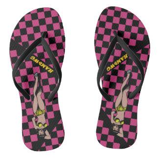 Chinelos HAMbWG - flip-flops - verificadores de Racey