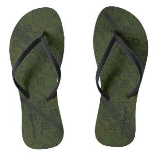 Chinelos HAMbyWG - cobra dos flip-flops - Boho verde
