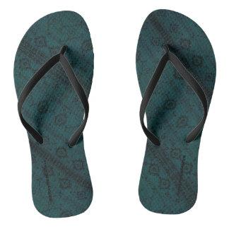 Chinelos HAMbyWG - cobra dos flip-flops - cerceta Boho