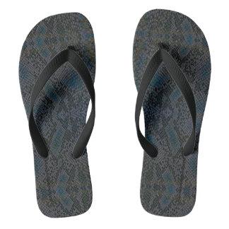 Chinelos HAMbyWG - cobra dos flip-flops dos homens - azul