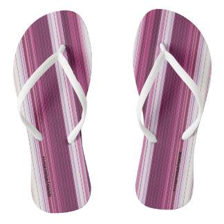 Chinelos HAMbyWG - flip-flops - inclinação do branco da
