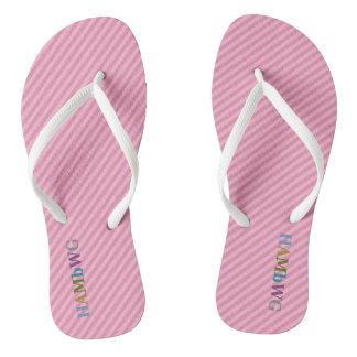 Chinelos HAMbyWG - flip-flops - luz - multi logotipo