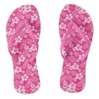 Chinelos havaianos cor-de-rosa do Razzmatazz