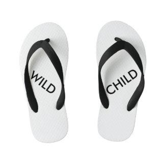 Chinelos Infantis Criança selvagem