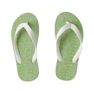 Chinelos Infantis Design verde orgânico de Extropix