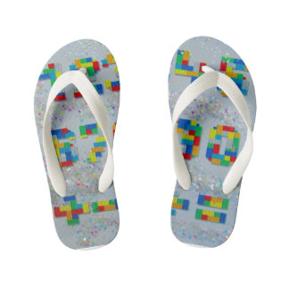 Chinelos Infantis Divertimento do flip-flop de Footware