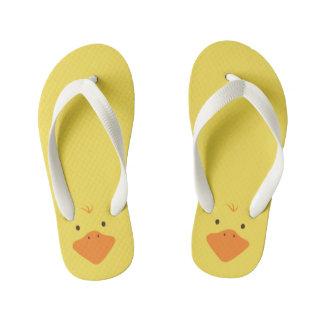 Chinelos Infantis Ducky pequeno bonito