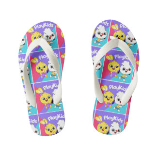 Chinelos Infantis Flip-flop bonito