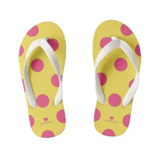 Chinelos Infantis HAMbyWhiteGlove - flip-flops - bolinhas