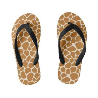 Chinelos Infantis Impressão do girafa