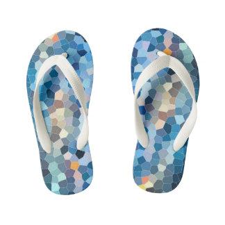 Chinelos Infantis Mosaico da água [chinelos, miúdos]