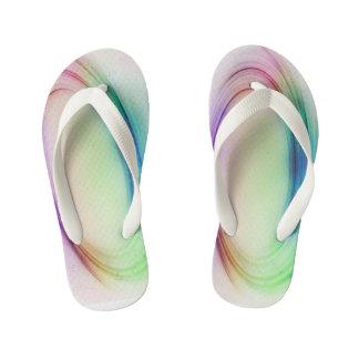 Chinelos Infantis O arco-íris gosta de calçados dos miúdos