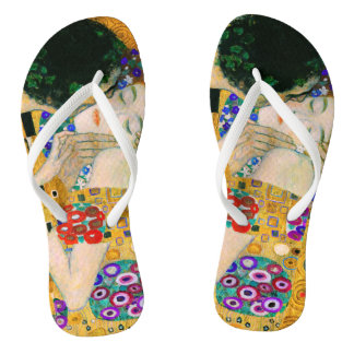 Chinelos O beijo por Gustavo Klimt