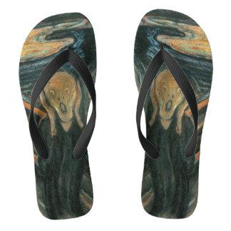 Chinelos O gritar pela pintura do ~ de Edvard Munch