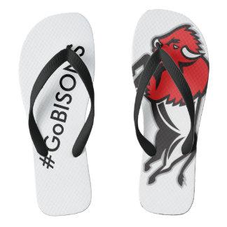 Chinelos Obtenha a seu EDDIE os flip-flops do BISONTE de