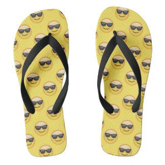 Chinelos Óculos de sol legal Emoji das máscaras