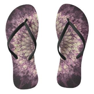 Chinelos Purple Mandala