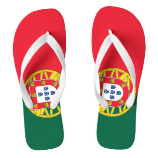 Chinelos Qualidade da bandeira de Portugal