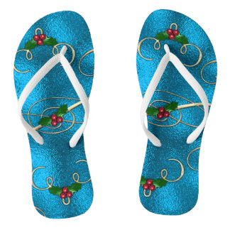 Chinelos Redemoinhos modernos & à moda do Natal