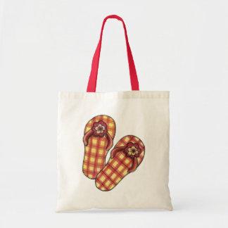 Chinelos - sacola bolsas para compras