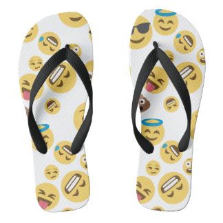 Chinelos Smiley louco Emojis