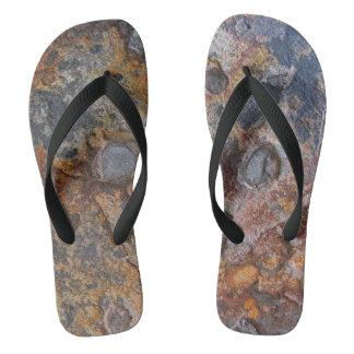 Chinelos Superfície da natureza da rocha de Sedementary