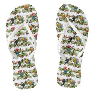 Chinelos tropicais (escolha a cor)