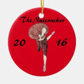 Chinês personalizado do ornamento do Nutcracker