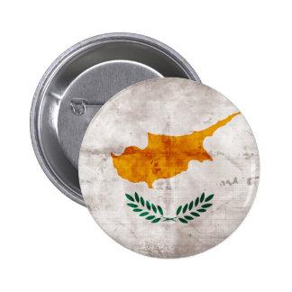 Chipre Bandeira cipriota Boton