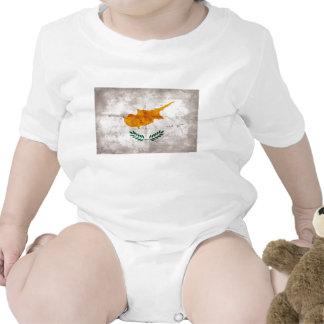 Chipre; Bandeira cipriota Macacãozinhos Para Bebê