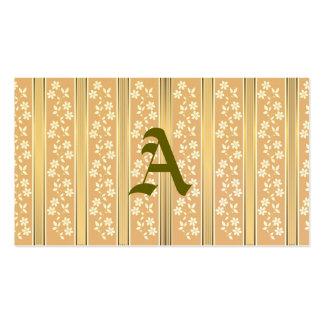 chique, papel de parede, champanhe, ouro, floral, cartão de visita