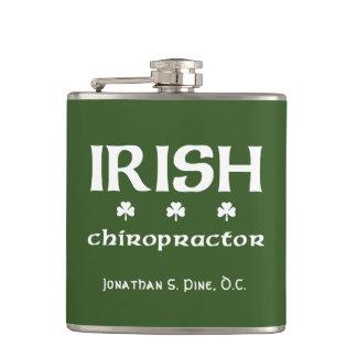 Chiropractor irlandês personalizado cantil