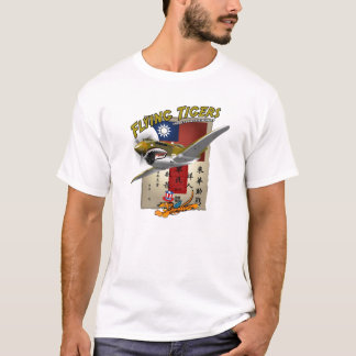 Chit do sangue de Flying Tigers P-40 Camiseta