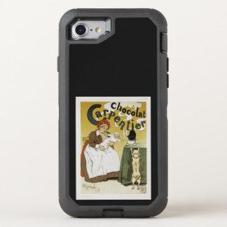 Chocolat Carpentier Capa Para iPhone 7 OtterBox Defender