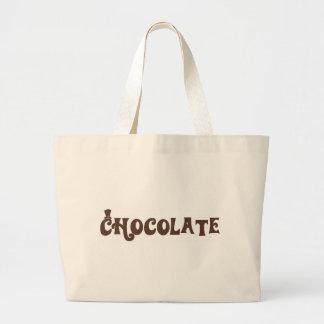 Chocolate Bolsa Tote Grande