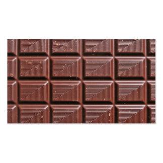 Chocolate Cartão De Visita