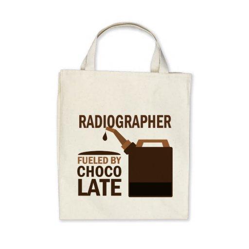 Chocolate (engraçado) do técnico de radiologia bolsa para compra