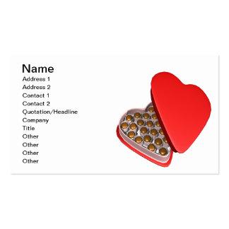 Chocolates Cartão De Visita