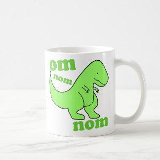 chompss do dinossauro do nom do nom do OM Canecas