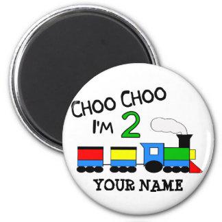 Choo Choo eu sou 2!  Com TREM Imã