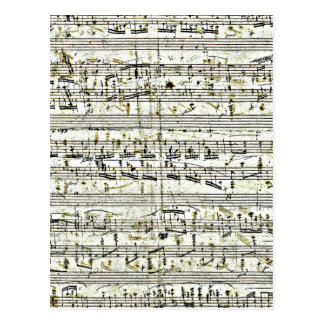 Chopin: Polonaise Cartão Postal