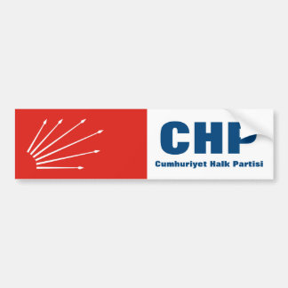 CHP turco do partido de Repuplican Adesivo Para Carro