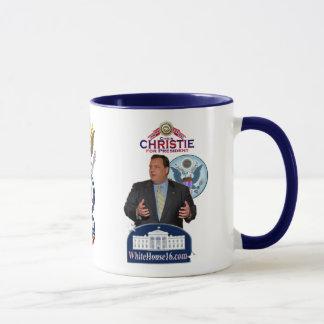 Christie para o presidente Campainha Caneca