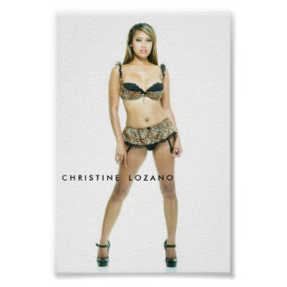 christine-6033, C H R MIM S T MIM NORDESTE    L O  Poster