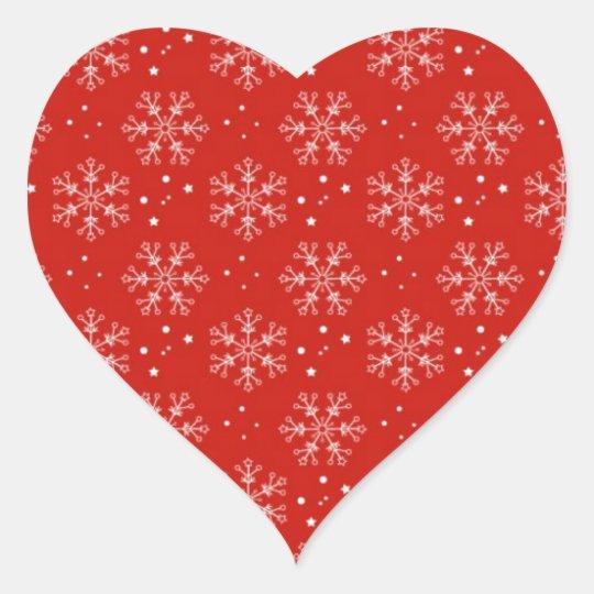 christmas adesivo coração